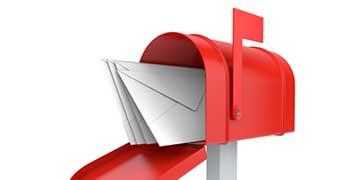 Bejövő posta kezelése